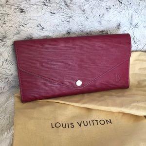 Louis Vuitton Josephine epi wallet